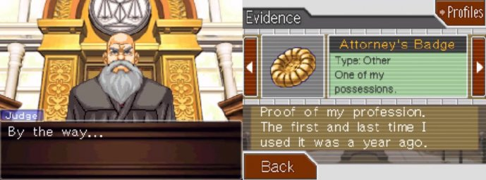 Phoenix Wright: Ace Attorney ? Trials and Tribulations 1