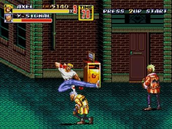 Streets of Rage 2 0
